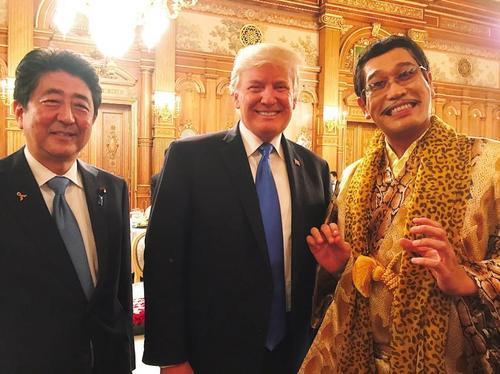 トランプ大統領とピコ太郎2.jpeg