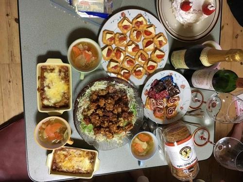 日本人妻のクリスマス料理1.JPG