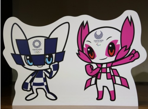 東京オリンピックのマスコット.jpg